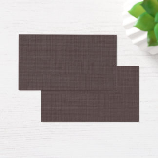 Only Taupe dark solid color Business Card