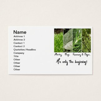 Only the Beginning Business Card