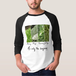 Only the Beginning Men's 3/4 Raglan T-Shirt