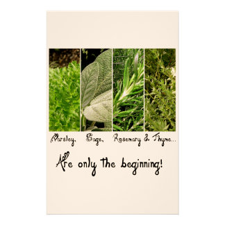 Only the Beginning Stationery