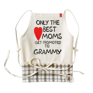 Only the Best Moms get promoted to Grammy Apron