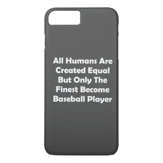 Only The Finest Become Baseball Player iPhone 8 Plus/7 Plus Case