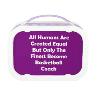 Only The Finest Become Basketball Coach Lunch Box