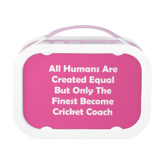 Only The Finest Become Cricket Coach Lunch Box
