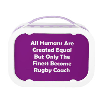 Only The Finest Become Rugby Coach Lunch Box