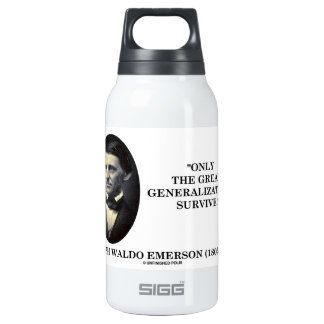 Only The Great Generalizations Survive Emerson 10 Oz Insulated SIGG Thermos Water Bottle