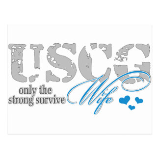 Only the strong survive Coast Guard Postcard