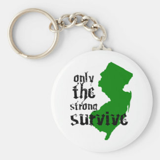 Only The Strong Survive Keychain