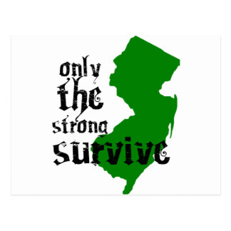 Only The Strong Survive Postcard