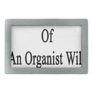 Only The Wife Of An Organist Will Understand Rectangular Belt Buckle