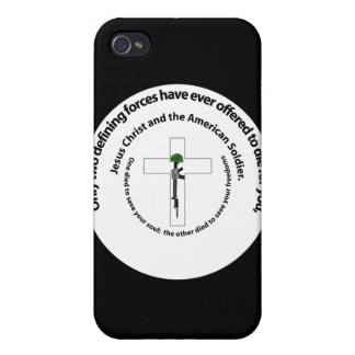 Only Two Defining Forces Case For iPhone 4