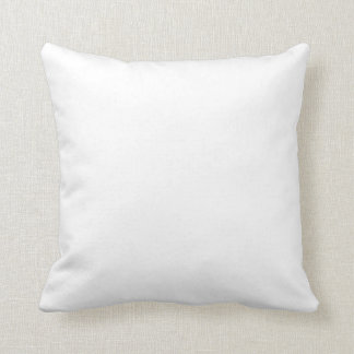 Only white solid color pillows