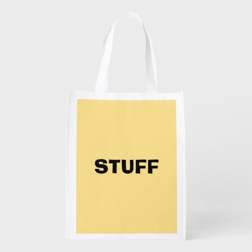 Only Yellow cream solid color Market Totes