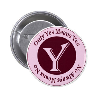 Only Yes Means Yes No Always Means No Awareness Button