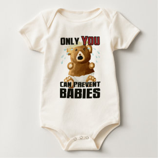 Only YOU - I don't want younger siblings edition Baby Bodysuit