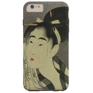 Onna del fuku de Ase o (barrido de la mujer Funda Para iPhone 6 Plus Tough
