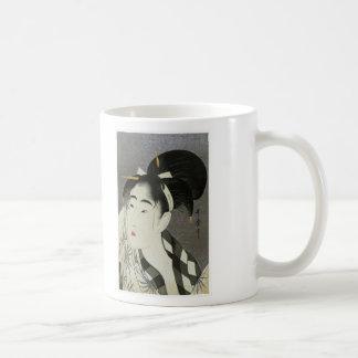 Onna del fuku de Ase o Tazas De Café