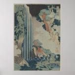 Ono Falls on the Kisokaido Poster