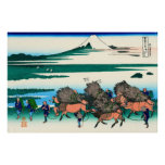 Ono Shindon, por Katsushika Hokusai Posters