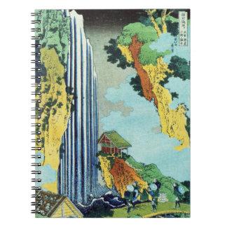 Ono Waterfall Spiral Notebook
