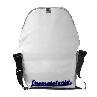 Onomatologist Classic Job Design Messenger Bags