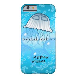 Onomatopoeia buzz thinking jellyfish barely there iPhone 6 case