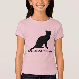 Onomatopoeia meow T-Shirt