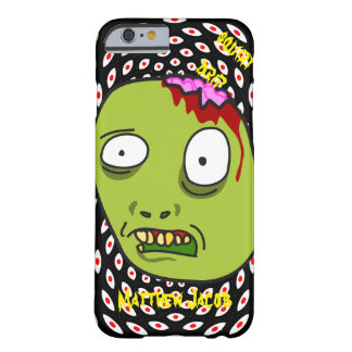 Onomatopoeia squirt and drip think n monster blood barely there iPhone 6 case