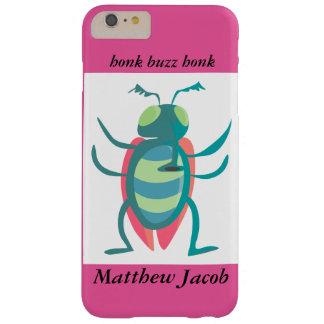 Onomatopoeia word buzz, honk thinking bug barely there iPhone 6 plus case