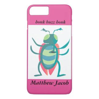 Onomatopoeia word buzz, honk thinking bug iPhone 8 plus/7 plus case