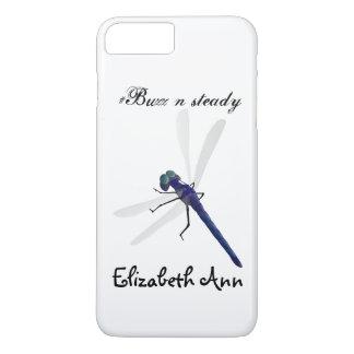 Onomatopoeia word buzz thinking dragonfly iPhone 8 plus/7 plus case