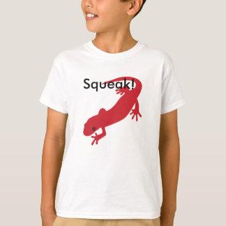 Onomatopoeia word squeak, salamander sound T-Shirt