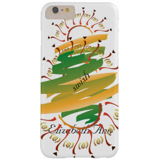 Onomatopoeia word swish thinking painting barely there iPhone 6 plus case