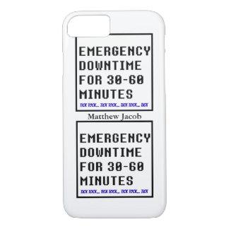 Onomatopoeia word tick tock thinking downtime iPhone 8/7 case