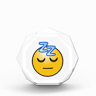 Onomatopoeia word zzZZ thinking sleep, relaxation Award