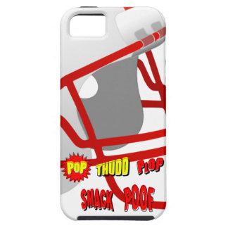 Onomatopoeia words pop, smack, thinking football iPhone SE/5/5s case