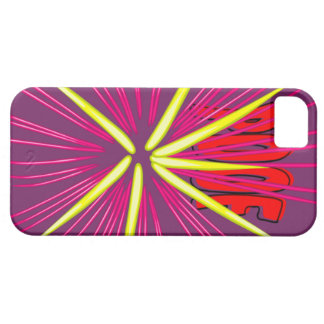 Onomatopoeias pop, thudd, smack, poof, plop iPhone SE/5/5s case