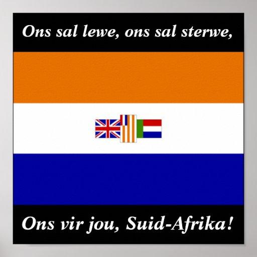 Ons vir jou, Suid-Afrika! Posters