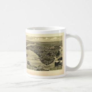 Onset Bay Grove Wareham Massachusetts Map (1885) Coffee Mug
