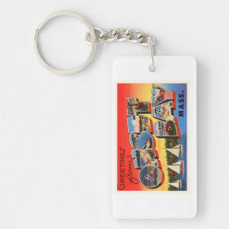 Onset Bay Massachusetts MA Vintage Travel Souvenir Keychain