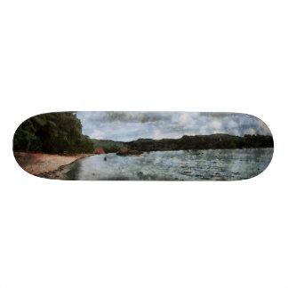 Onset of bad weather custom skateboard