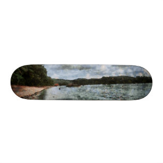 Onset of bad weather skate board