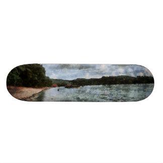 Onset of bad weather skateboards