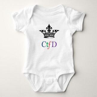Onsie del bebé de CTFD Mameluco De Bebé