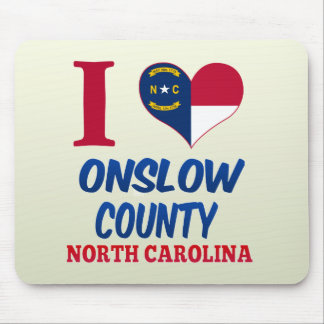 Onslow County, North Carolina Mousepads