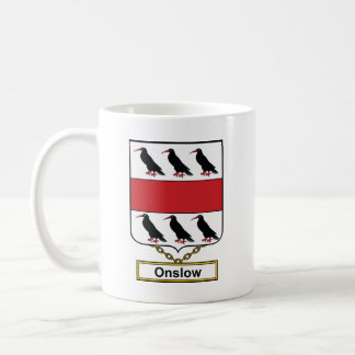 Onslow Family Crest Coffee Mug