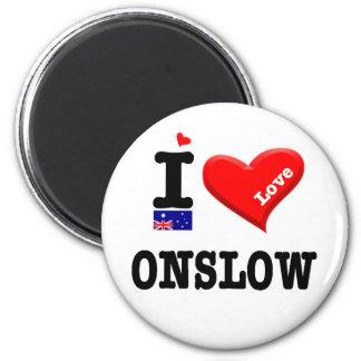 ONSLOW - I Love Magnet
