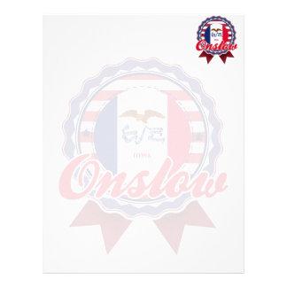 Onslow, IA Customized Letterhead