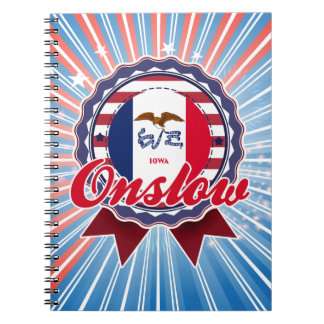 Onslow, IA Spiral Notebook