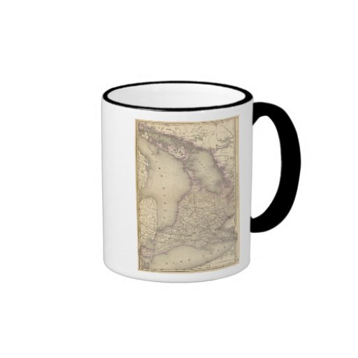 Ontario 3 ringer coffee mug